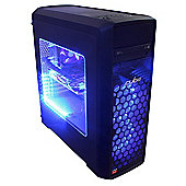 Cube Lieutenant Gaming PC AMD Quad Core with Radeon R7 370 Graphics