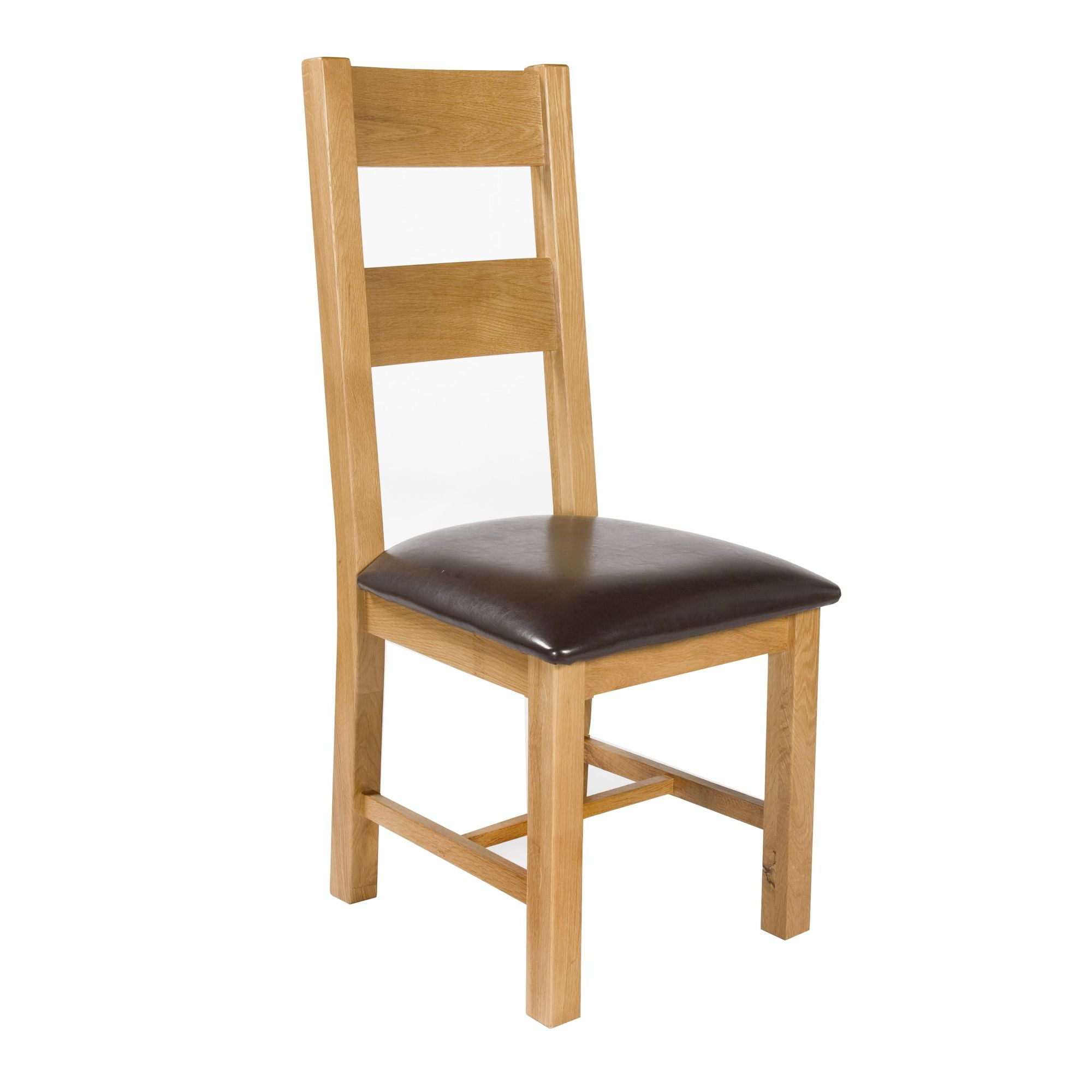 Elements Brunswick Dining Chair in Warm Lacquer (Set of 2)