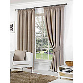 Rome Ready Made Lined Curtains - Brown