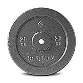 Bodymax Standard Hammertone Weight Disc Plate - 20kg
