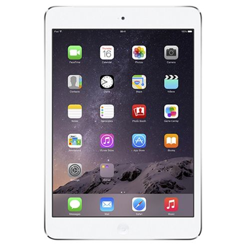 Apple iPad mini 2, 32GB, WiFi & 4G LTE (Cellular) - Silver