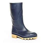 Brantano Boys Basic Welly Blue Wellington Boots - Blue