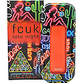 FCUK Late Night Him Eau de Toilette (EDT) 100ml Spray For Men