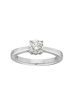 9ct Gold 0.75 Carat Solitaire Diamond Engagement Ring