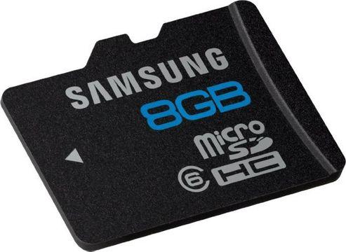 Samsung MS-MS8GA/EU Micro SDHC Essential Class 6 8GB