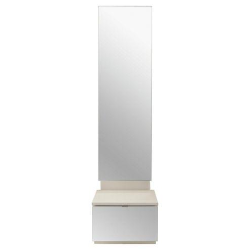 Palermo Mirror Chest White Mirrored