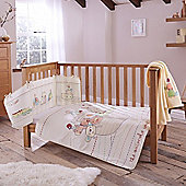 Clair de Lune 4pc Cot Bed Bedding Set (2 by Two)