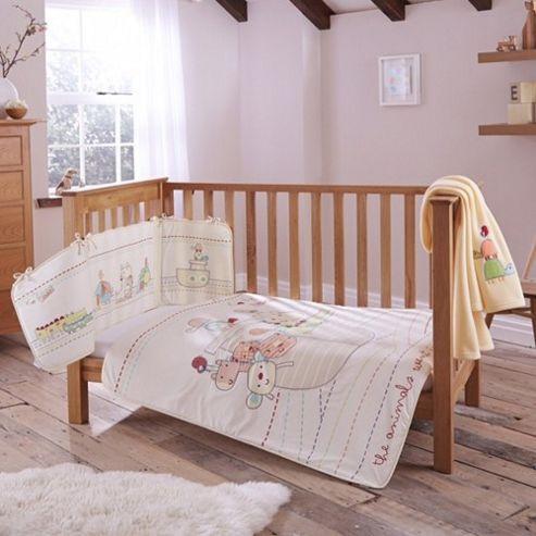 Clair de Lune 4pc Cot Bed Bedding Set (2 by Two)