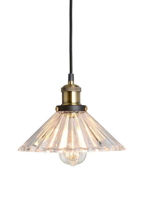 buy yves vintage glass pendant light from our glass l