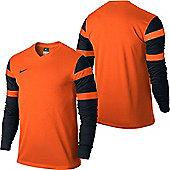 Nike Trophy II Football Shirt Long Sleeve - Orange