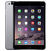 Apple iPad mini 3, 64GB, WiFi & 4G LTE (Cellular) - Space Grey