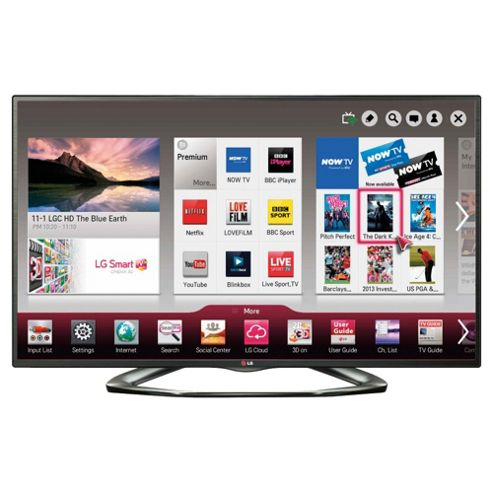 LG 32LA620V 32 Inch 3D Smart WiFi Built In Full HD 1080p LED TV With Freeview HD