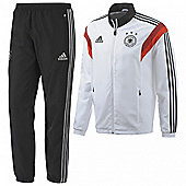 2014-15 Germany Adidas Presentation Tracksuit (White) - White