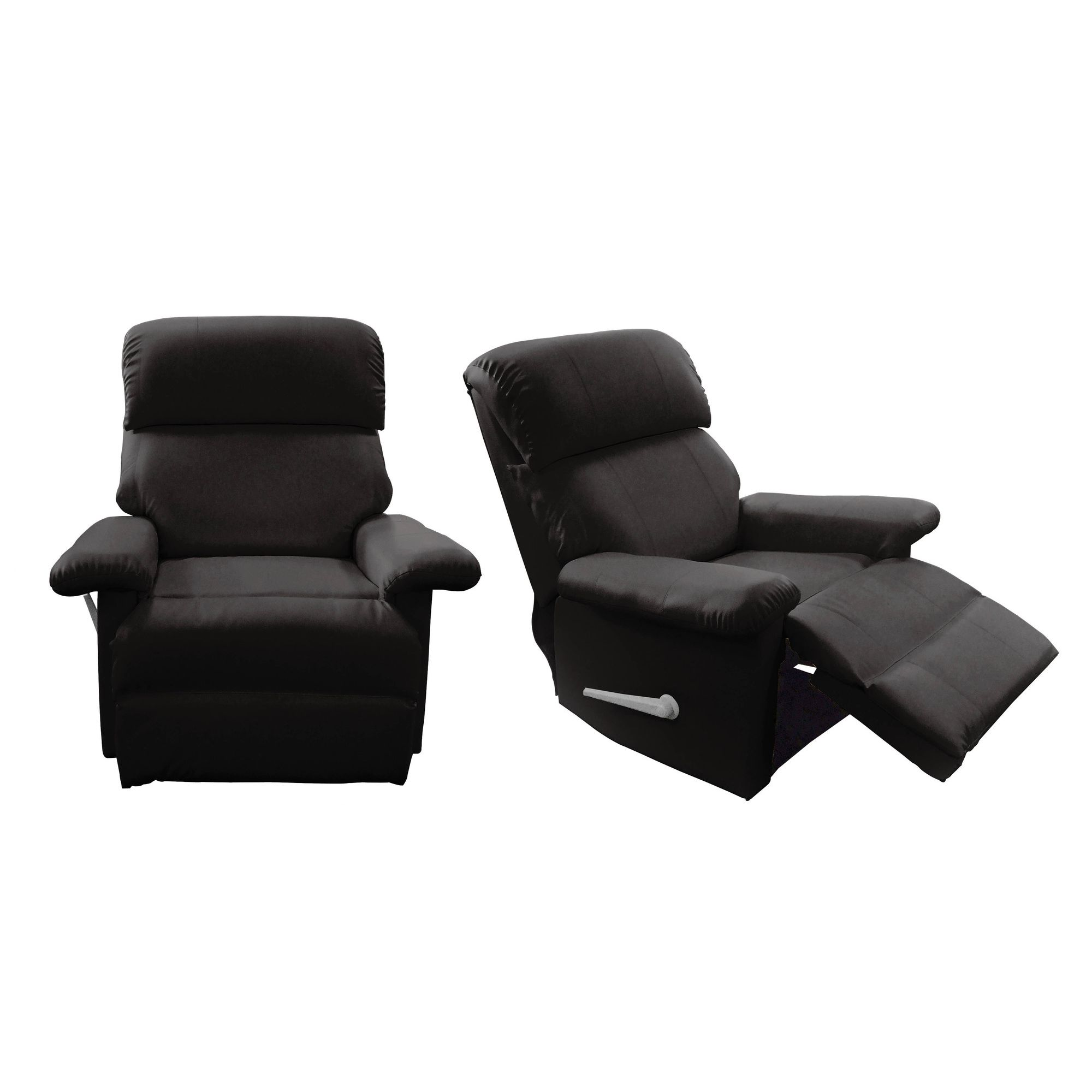Premier Housewares Leather Effect Reclining Chair at Tesco Direct