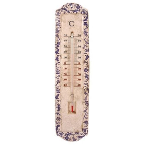 Fallen Fruits Ceramic Thermometer