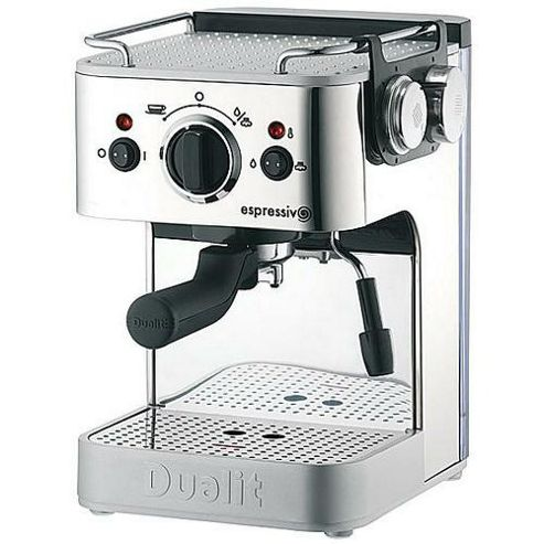 Dualit Espressivo 84400 Coffee Machine in Polished Steel