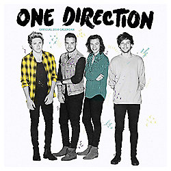 1 Direction 2016 Square Calendar
