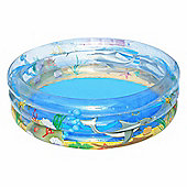 "Transparent Sea Life Paddling Pool 59"" - 51045"