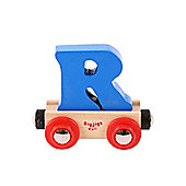 Bigjigs Rail BR118 Name Letter R (Colours Vary)