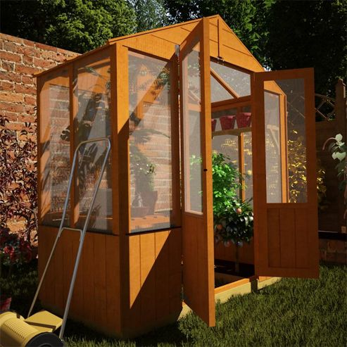 BillyOh 4000 3 x 6 Lincoln Wooden Greenhouse