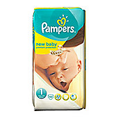 Pampers New Baby Size1 Newborn Nappies 2-5kg / 4-11lbs) - 45 Pack