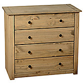 Home Essence Panama 4 Drawer Chest