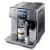 DeLonghi Patented Auto Cappuccino System Bean to Cup Coffee Maker