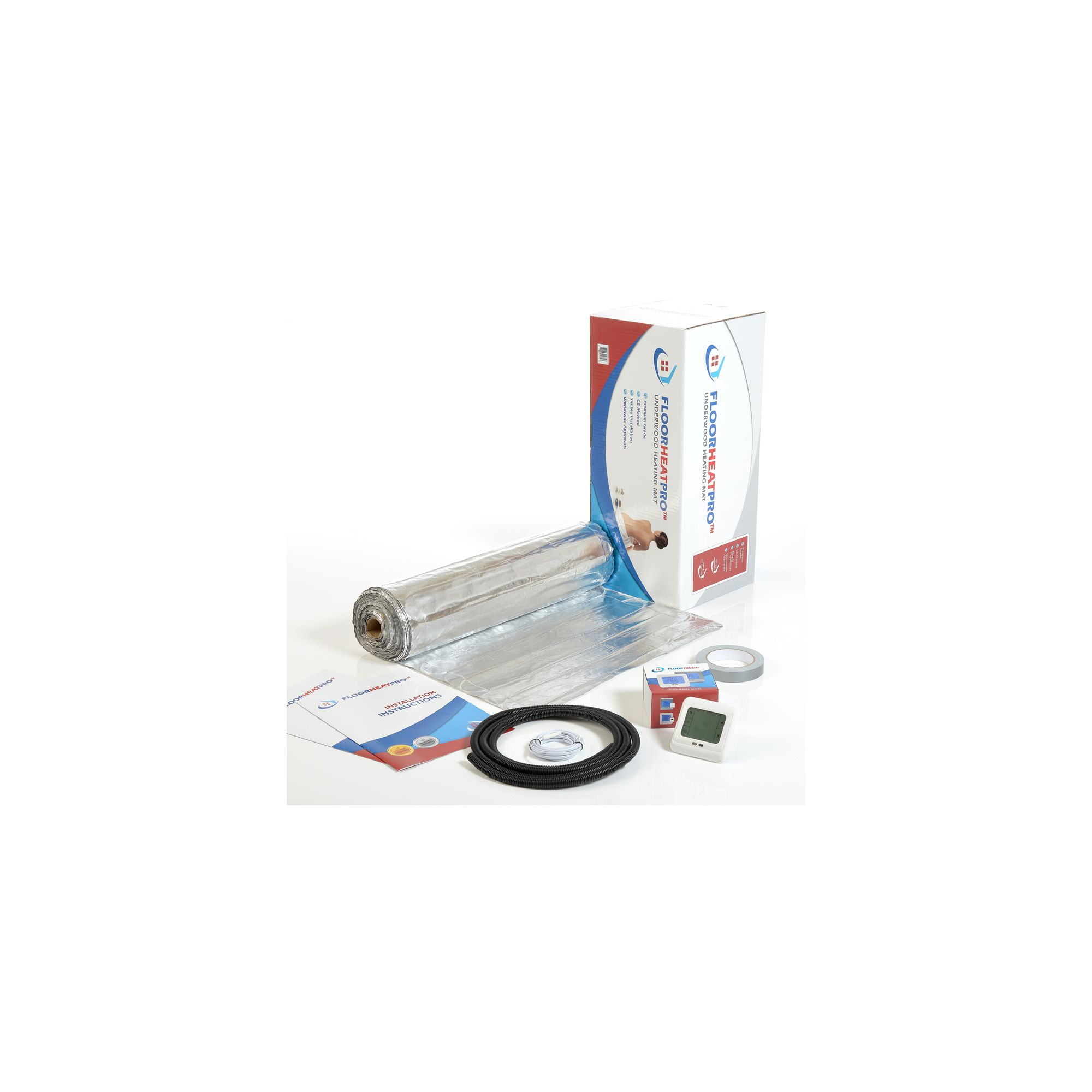 11.0 m2 - Underfloor Electric Heating Kit - Laminate at Tesco Direct
