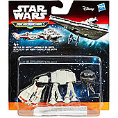 Star Wars The Empire Strikes Back Micro Machines 3-Pack Battle of Hoth - Figures