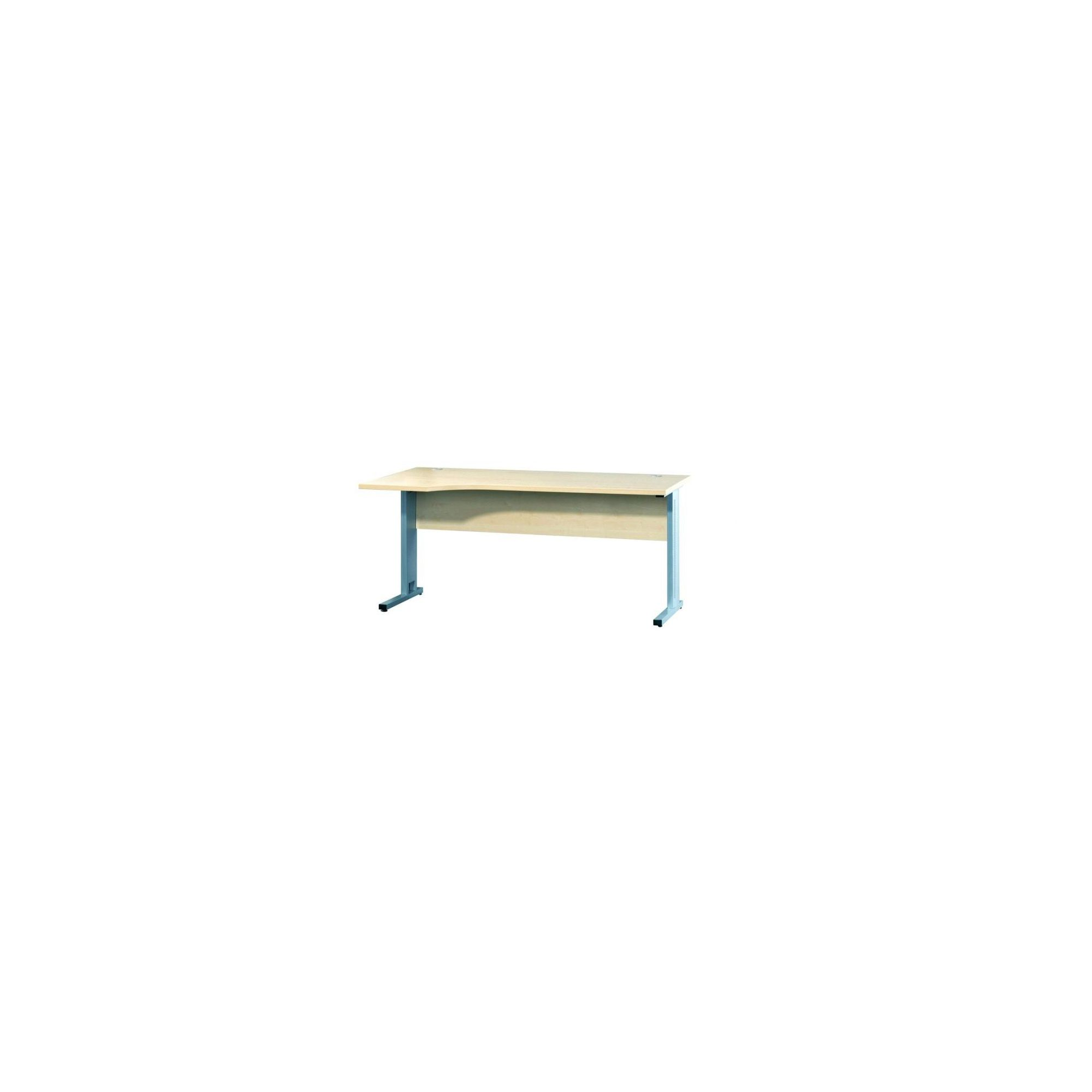 Bush Techno Speed R/H Cantilever Framed Ergonomic Desk in Beech at Tesco Direct