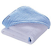 Clair de Lune Luxury Hooded Towel (Honeycomb Blue)