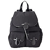 OiOi Changing Bag Black Backpack