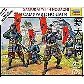 Zvezda - Samurai with Nodachi - 1:72 Scale 6405