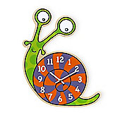 Barnabou Serie Golo Childs Kids Wall Clock Horloge Escargot Snail HOR005