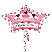 18' Crown Shaped Foil Balloon (each)