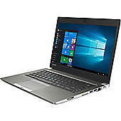 "Toshiba Portege Z30 13.3"" Intel Core i5 Windows 7 Pro 8GB RAM 256GB SSD Laptop Grey"
