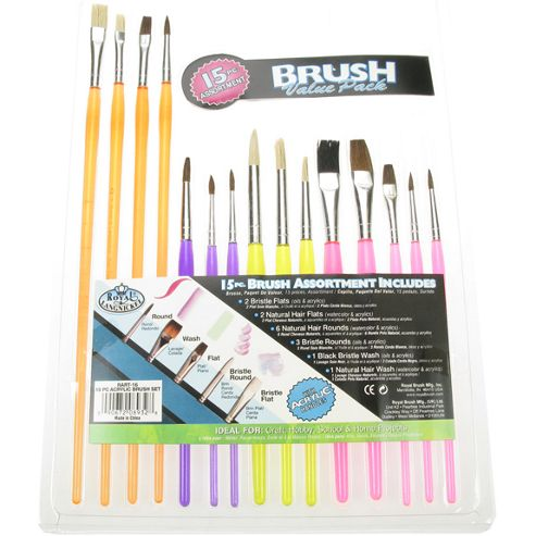 Royal Brush Value 15 Pack