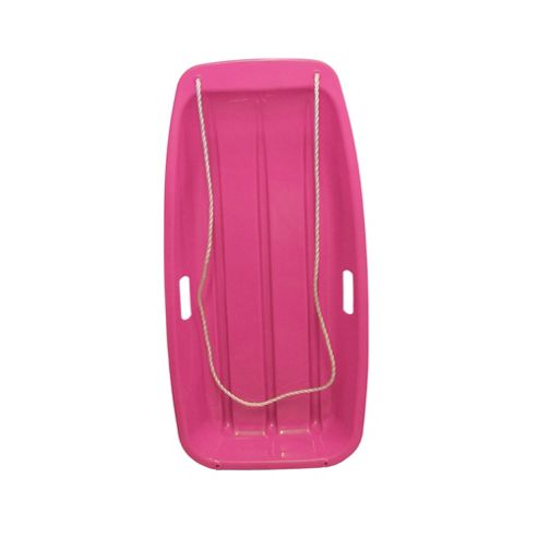 Snow Speeder Plastic Sled - Pink