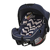 OBaby Zeal Group 0+ Infant Car Seat (ZigZag Navy)
