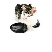 Imac Ciottoli Dog and Cat Bowl in Anthracite - Small (20cm L x 17cm W x 5.5cm H)