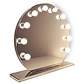 Mirror Finish Hollywood Makeup Mirror with Dimmable lamps k251