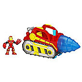 Playskool Heroes Super Hero Adventures Repulsor Drill
