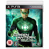 Green Lantern - Rise Of The Manhunters - PS3