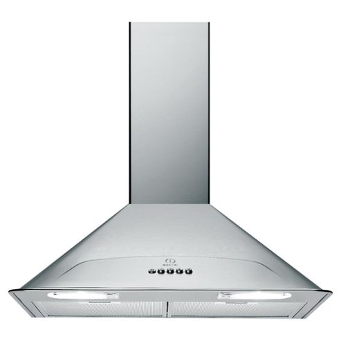 Indesit H573LIX 70cm Chimney Hood Stainless Steel