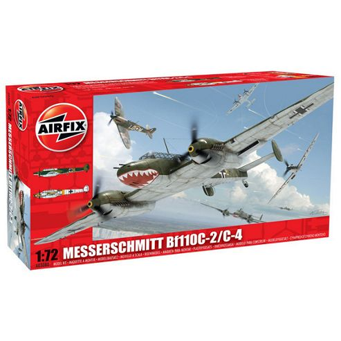 Messerschmitt Bf110C-2/C-4 (A03080) 1:72