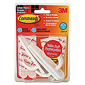 3M Removable Utility Hooks with Command Adhesive 17003C-VP