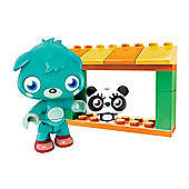 Mega Bloks Moshi Monsters Zoo And Poppet 80635