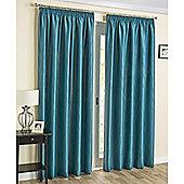Laguna Thermal Blockout curtains Teal - 229X183 cm