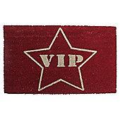 VIP Red Carpet Coir Door Mat 45 x 75cm