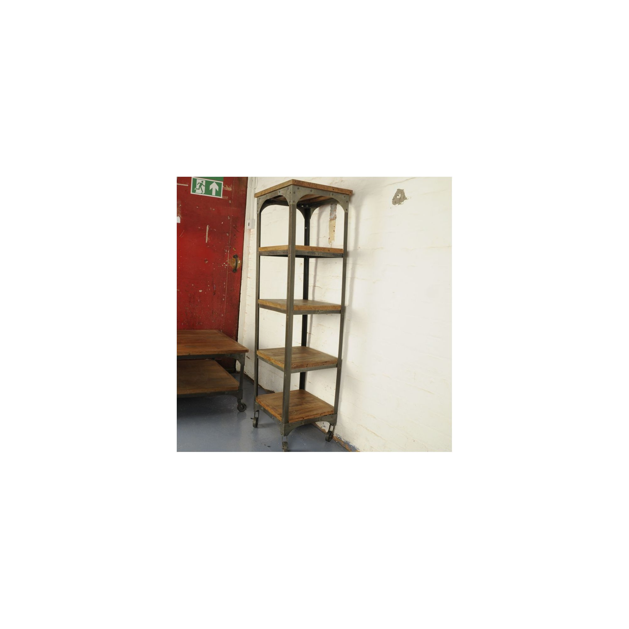 Oceans Apart Industrial Living Five Layer Corner Shelf at Tesco Direct